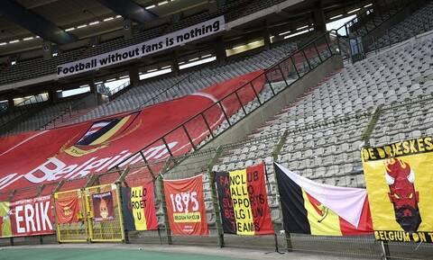 Κορονοϊός: «Κλείνουν» ξανά τα γήπεδα στο Βέλγιο