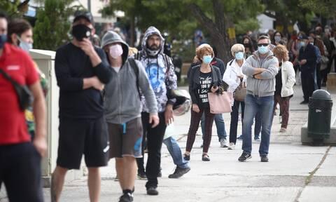 Κορονοϊός: Τρομάζουν τα νέα κρούσματα σε Αττική και Θεσσαλονίκη