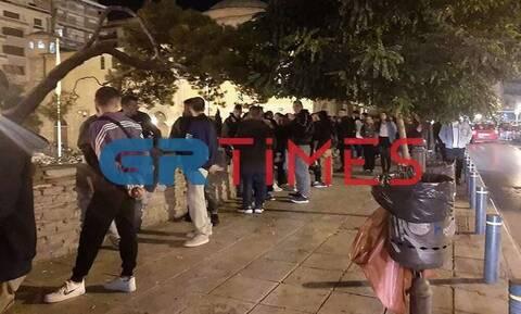 Θεσσαλονίκη: Επιχείρηση της αστυνομίας για την αποφυγή συνωστισμού