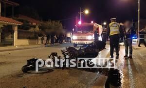 Θανατηφόρο τροχαίο στην Αμαλιάδα: Νεκρή 24χρονη – Χαροπαλεύει ο 30χρονος ξάδερφός της