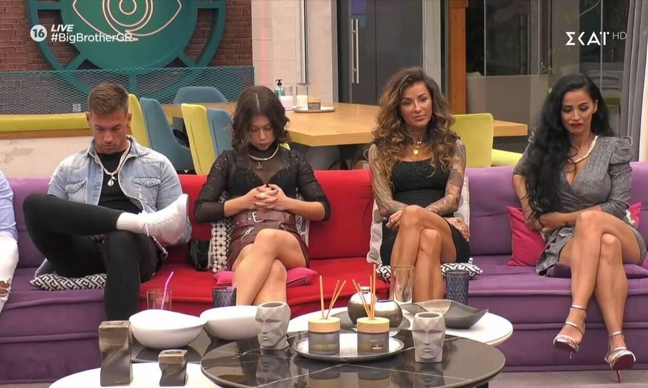 Big Brother: Χαμός στο σπίτι μετά την ανακοίνωση της αποχώρησης (video)