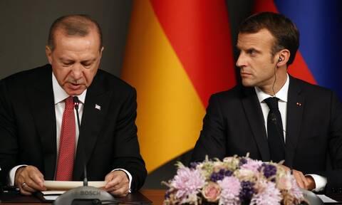 Ο Μακρόν αντεπιτίθεται: Ανακαλείται ο Γάλλος πρέσβης στην Άγκυρα
