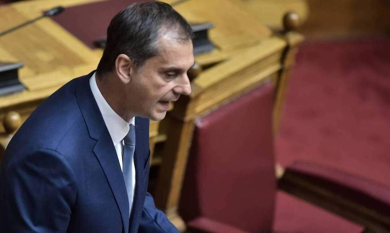 Θεοχάρης στη Βουλή:: Ο ΣΥΡΙΖΑ πόνταρε στην καταστροφή και απέτυχε παταγωδώς