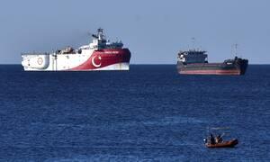 Oruc Reis: Συνεχίζουν τα «παιχνίδια» οι Τούρκοι - Eπεκτείνουν τις έρευνες με NAVTEX
