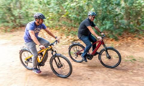 Τα ηλεκτρικά ποδήλατα είναι μια νέα και ωραία μορφή κινητικότητας