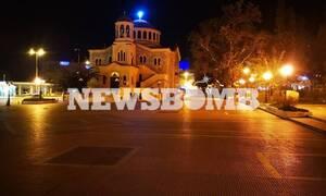 Κορονοϊος - Απαγόρευση κυκλοφορίας: Έρημο Σαββατόβραδο σε Αθήνα και Θεσσαλονίκη