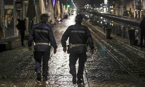 Ιταλία: Επεισόδια μεταξύ ακροδεξιών και αστυνομίας στην Ρώμη για την απαγόρευση κυκλοφορίας