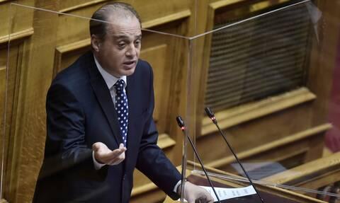 Πρόταση μομφής - Βελόπουλος: Xρειαζόμαστε εθνική ομοψυχία, όσο το Oruc Reis κάνει βόλτες