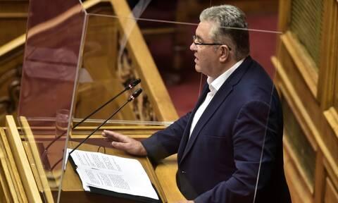 Πρόταση δυσπιστίας - Κουτσούμπας: Το ΚΚΕ καταψηφίζει συνολικά την πολιτική της κυβέρνησης της ΝΔ
