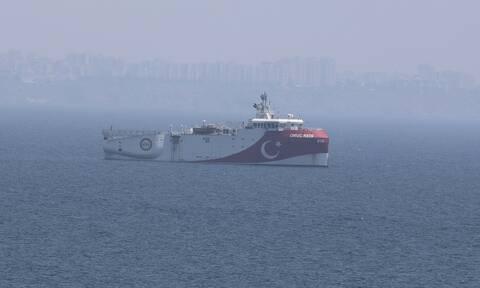 Νέα πρόκληση από το τουρκικό ΥΠΕΞ: Το Oruc Reis κάνει έρευνες σε τουρκική υφαλοκρηπίδα