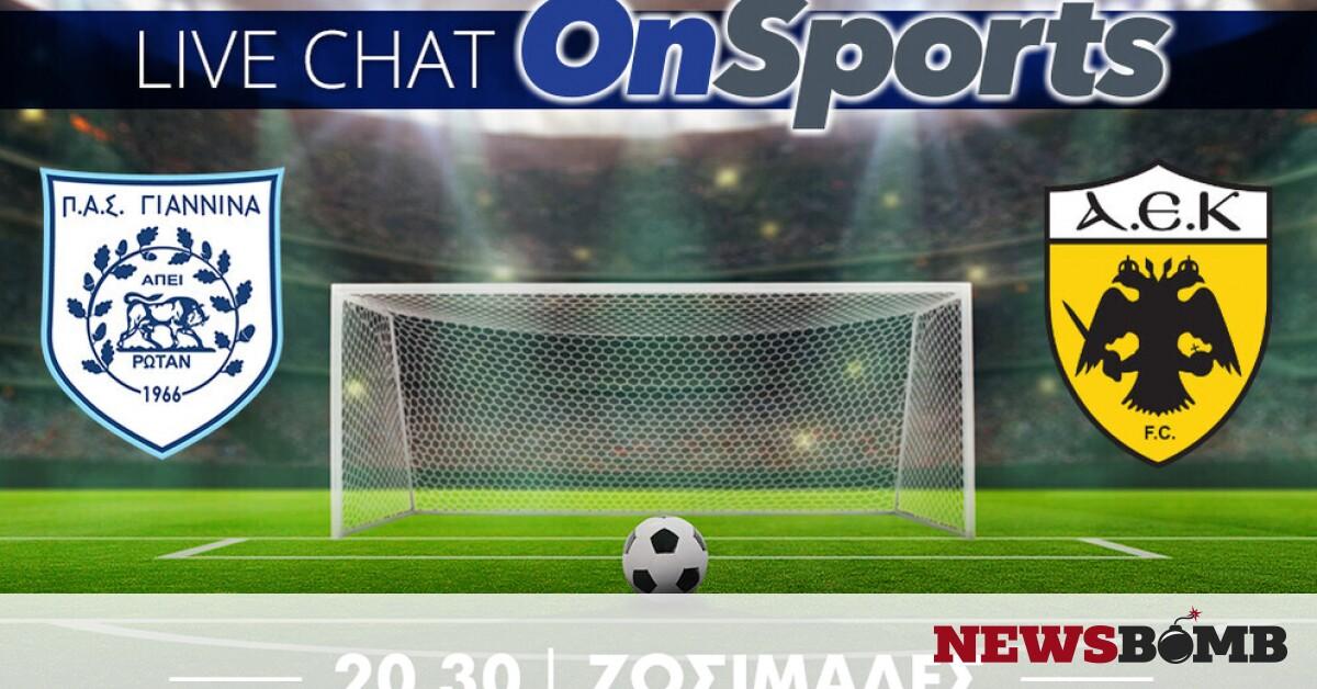 facebookPASgiannina AEK live