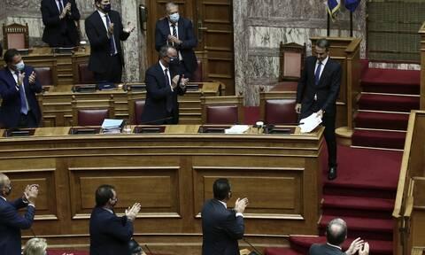 Βουλή: Καταψηφίστηκε η πρόταση δυσπιστίας κατά του Χρήστου Σταϊκούρα