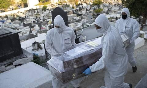 Κορονοϊός στη Βραζιλία: 13.493 κρούσματα και 231 θάνατοι σε 24 ώρες