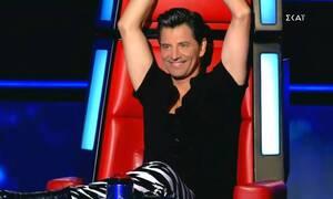 The Voice: Ένα από τα μεγάλα φαβορί - «Μάχη» έδωσαν Ρουβάς και Μουζουράκης (vid)