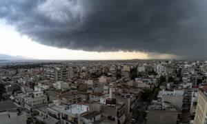 Έκτακτο δελτίο επικίνδυνων καιρικών φαινομένων: Έρχονται ισχυρές βροχές, καταιγίδες και χαλάζι