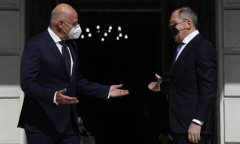 В Афинах состоялись переговоры Лаврова и Дендиаса