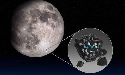 NASA: Σπουδαία ανακάλυψη - Βρέθηκε νερό στη Σελήνη