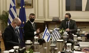 Η τουρκική προκλητικότητα στη συνάντηση Μητσοτάκη με τον Ισραηλινό υπουργό Εξωτερικών