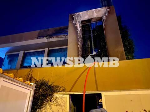 Φωτιά Παλαιό Φάληρο: Απόλυτη καταστροφή σε γνωστό εστιατόριο