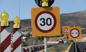 Παραδόθηκε το νέο οδικό τμήμα της Παλιάς Εθνικής Οδού Αθηνών - Θηβών