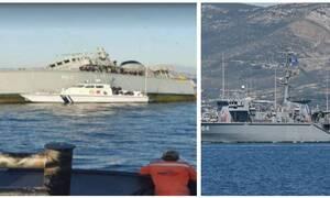 Σύγκρουση πλοίων στον Πειραιά: Γιατί κόπηκε στα δυο το «Καλλιστώ» του Πολεμικού Ναυτικού;