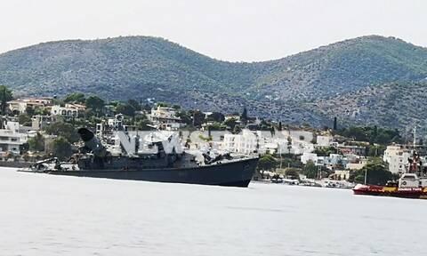 Σύγκρουση πλοίων: Εικόνες του Newsbomb.gr από τη ρυμούλκηση του «Καλλιστώ» (vid)