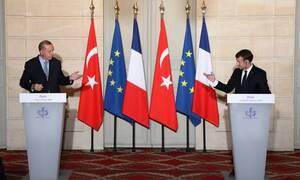 Ασφυκτικό «μαρκάρισμα» Μακρόν σε Ερντογάν - Καλεί την ΕΕ να λάβει μέτρα κατά της Τουρκίας