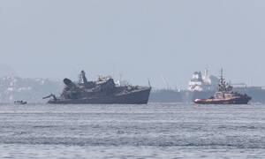 «ΚΑΛΛΙΣΤΩ»: Τρομακτική η ταχύτητα του εμπορικού - Ο σωτήριος ελιγμός του Έλληνα κυβερνήτη