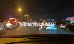 Κίνηση ΤΩΡΑ: Τροχαίο στην Εθνική Οδό - Ουρές και μεγάλες καθυστερήσεις