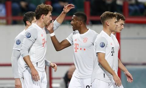 Champions League: Ασταμάτητη Μπάγερν Μονάχου – 593 ημέρες μόνο νίκες!
