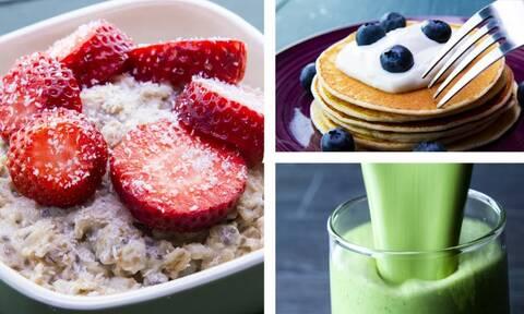 Επτά συνταγές για πρωινό που θα σας βοηθήσουν να χάσετε κιλά