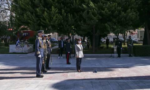 28η Οκτωβρίου - Σακελλαροπούλου: Η πατρίδα μας υπερβαίνει κάθε εμπόδιο όταν είναι ενωμένη