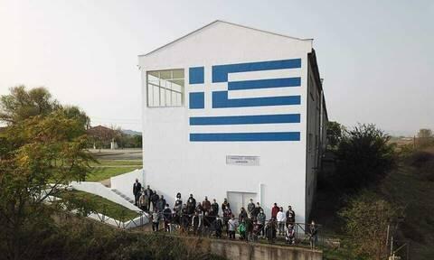 28η Οκτωβρίου: Ελληνική σημαία στον Έβρο, ορατή απο την Τουρκία και τη Βουλγαρία