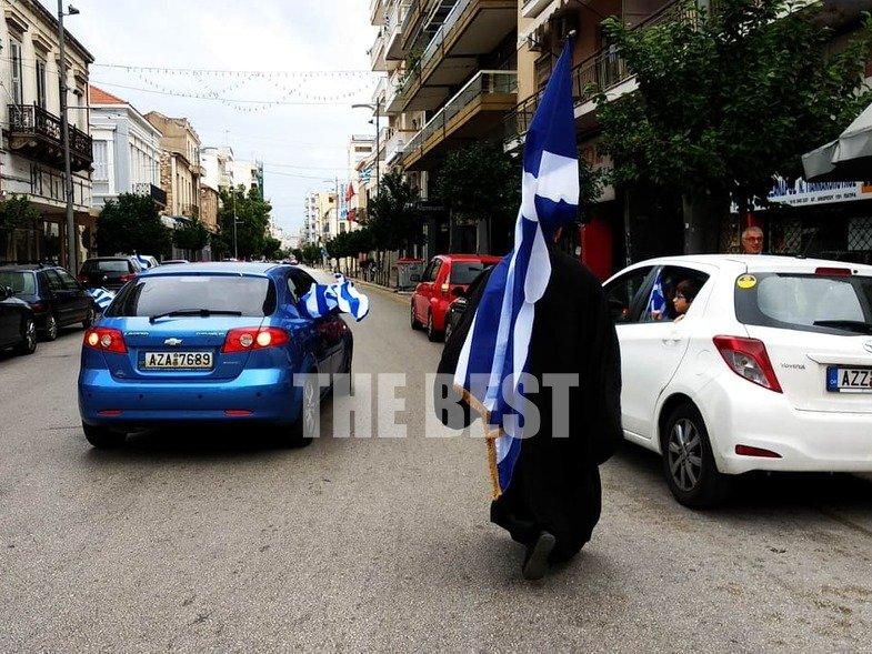 28η Οκτωβρίου Πάτρα: Παρέλαση χωρίς μάσκες και επεισόδια με αστυνομικούς (vid) 4