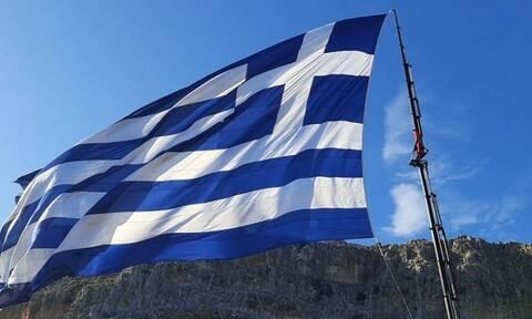 Οι Τούρκοι βλέπουν... προβοκάτσια στο Καστελόριζο: «Οι Έλληνες προκαλούν με γιγαντιαία σημαία»