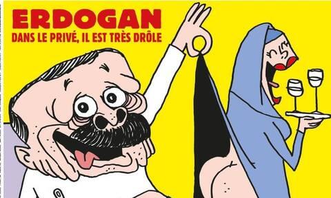 Η Άγκυρα κάλεσε για εξηγήσεις τον Γάλλο επιτετραμμένο για το σκίτσο στο Charlie Hebdo