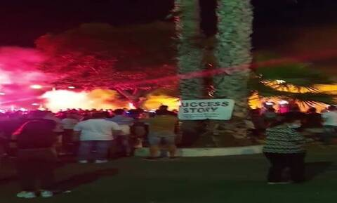 Kύπρος - Λεμεσός: Σοβαρά επεισόδια σε συγκέντρωση κατά των μέτρων για τον κορονοϊό (vid)
