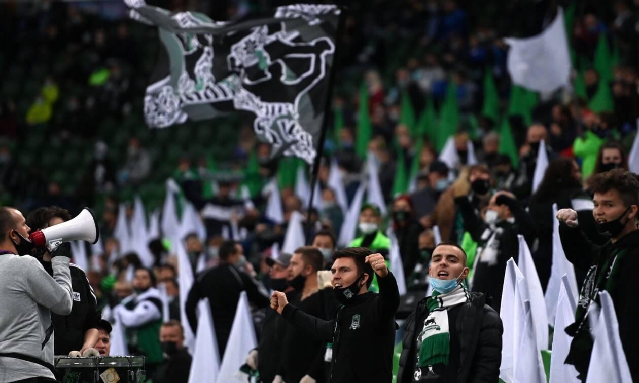 Κορονοϊός: Τρομάζουν οι εικόνες από τους 11.000 οπαδούς στο Κράσνονταρ (pics+vid)