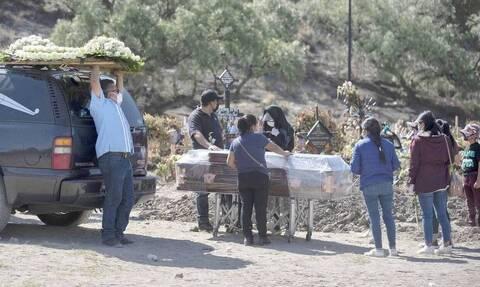 Κορονοϊός στο Μεξικό: 495 θάνατοι και 5.595 κρούσματα μόλυνσης σε 24 ώρες