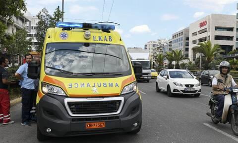 Κηφισίας: Τροχαίο με έναν σοβαρά τραυματία στα Σίδερα Χαλανδρίου