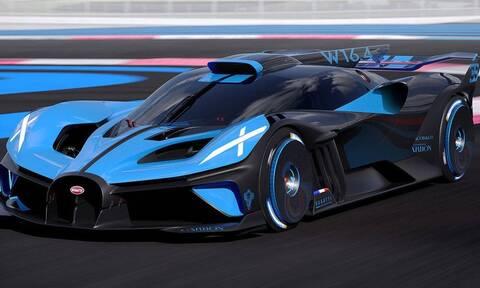 H Bugatti Bolide είναι… βολίδα με 1.850 ίππους και τελική πάνω από 500 χλμ./ ώρα