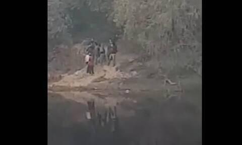 Βίντεο-ντοκουμέντο: Τούρκοι στρατιώτες έψαχναν περάσματα στον Έβρο!