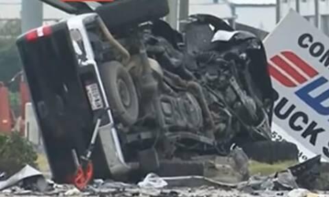 Τραγωδία: Καυχιόταν ότι μεθυσμένος οδηγεί καλύτερα και τράκαρε με φορτηγό (video)