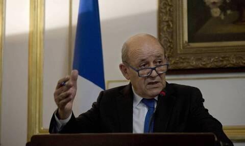 Γαλλία: «Μήνυμα ειρήνης» στέλνει ο ΥΠΕΞ Λε Ντριάν στον μουσουλμανικό κόσμο