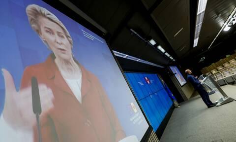 Κορονοϊός - Μήνυμα  Φον Ντερ Λάιεν: Υπομονή, πειθαρχία και αλληλεγγύη