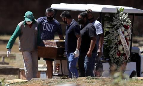 Κορονοϊός στο Βραζιλία: 26.106 κρούσματα και 513 θάνατοι σε 24 ώρες