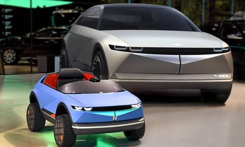 Το πιο μικρό ηλεκτρικό Hyundai έχει μήκος μόλις 1,38 μέτρα