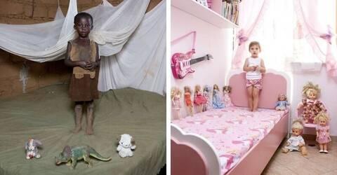 Παιδιά από 58 χώρες φωτογραφίζονται με τα παιχνίδια τους