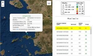 Σεισμός ΤΩΡΑ στη Σάμο - Λέκκας: «Φόβος για τσουνάμι»