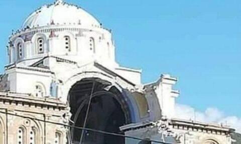 Σεισμός ΤΩΡΑ στη Σάμο: Μεγάλες ζημιές σε εκκλησία στο Καρλόβασι
